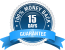 15 days money back guarantie